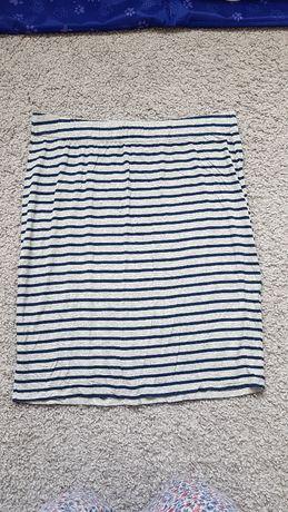 Spódnica materiałowa w paski Saint Tropez XL 42