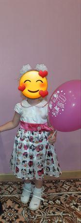 Красивое, нарядное платье на девочку 1,5-2,5 года рост 92 см