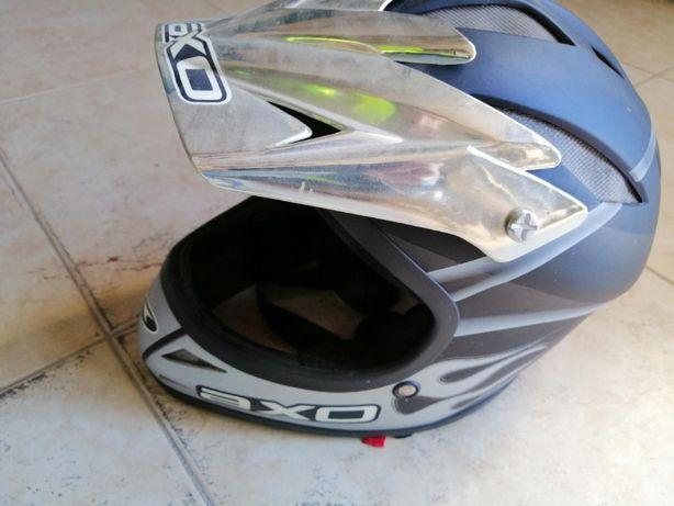 Capacete p/downhill/mota AXO