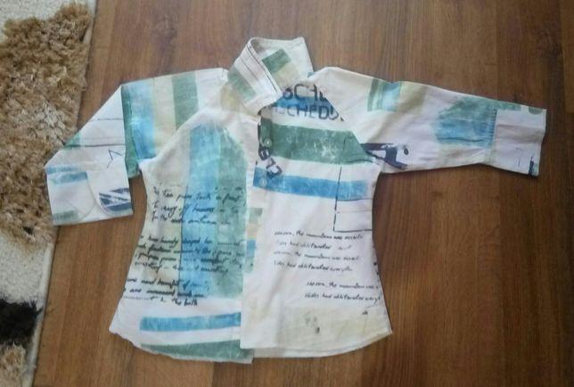 Детская нарядная рубашка с рукавом на мальчика 2-4 года