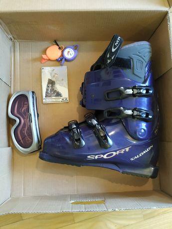 Лыжные ботинки SALOMON размер 28