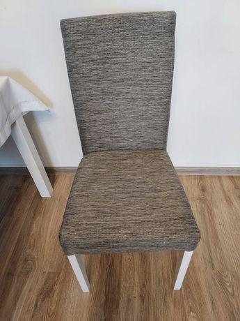 krzesła 4szt szare