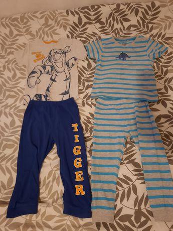 Dwie piżamki SMYK r.98 chłopiec
