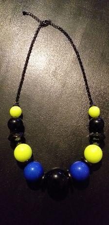 Monnari naszyjnik korale neon najmodniejszy
