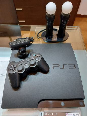 Playstation 3 - Pouco uso
