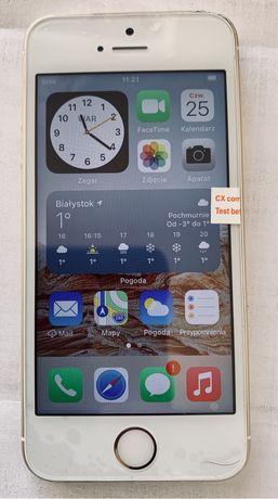 iPhone SE 64 GB zloty na gwaracji 6 m-cy