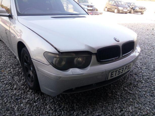 Maska BMW e65 titansilber przedlift
