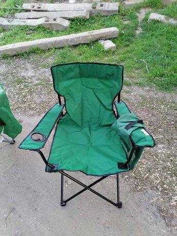 Стул PALISAD Camping, складной с подлокотн. и подстак. 89х54х86