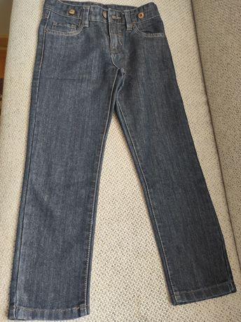 Spodnie chłopięce jeansy 128 5.10.15