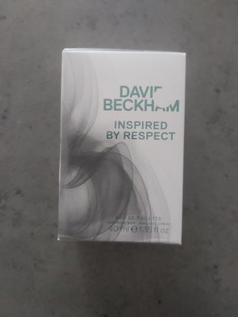 Perfum nowy David Beckham inspired by respect