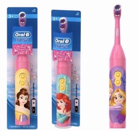 Электрическая зубная щётка Disney Princess(оригинал ORAL B).США.