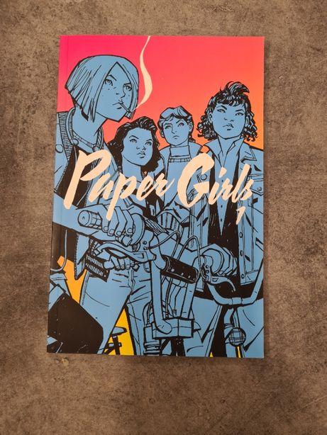 Paper Girls - części 1 - komiks