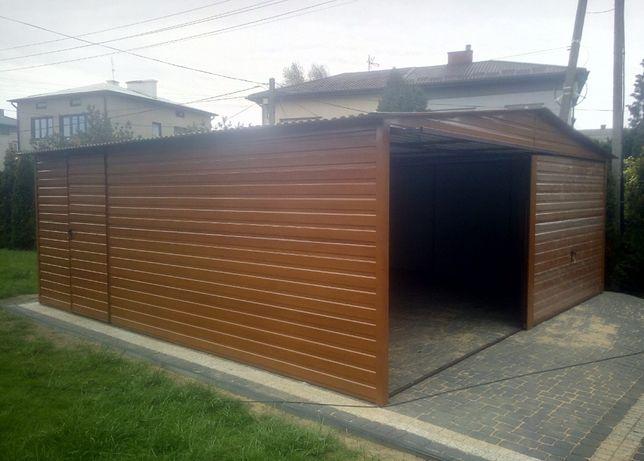 Garaż blaszany wiaty schowki blaszak garaże blaszane blaszaki Producen