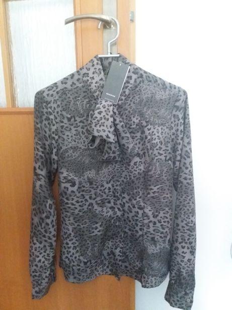 Koszula bluzka panterka zwierzęcy motyw NOWA Reserved r.34