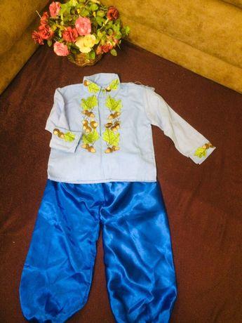 Детский набор( вышиванка+ шаровары)