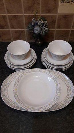 Столовая посуда блюдо тарелка супница фарфор винтаж