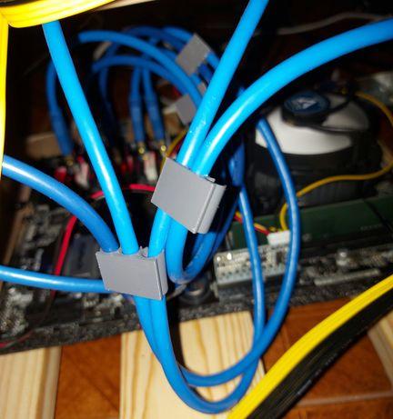 Mining RIG - Cable organizer / Organizador de cabos