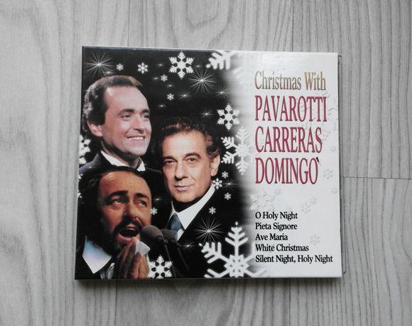 Christmas With Pavarotti Carreras & Domingo płyta CD świąteczna święta