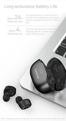 Lenovo оригинальные беспроводные сенсорные спортивные Bluetooth наушни
