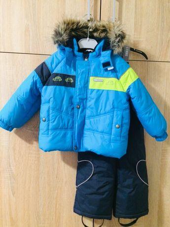 Зимний комбинезон Lenne 86+6 /куртка штаны полубомбинезон