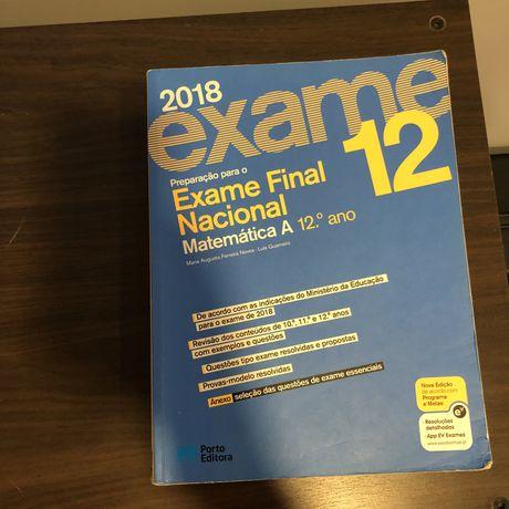 Manuais preparação Exame Matematica A