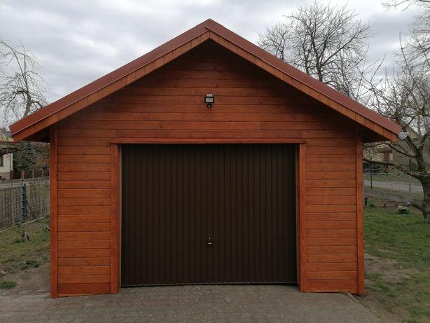 Garaż Drewniany w konstrukcji szkieletowej 4,5x5,5 m