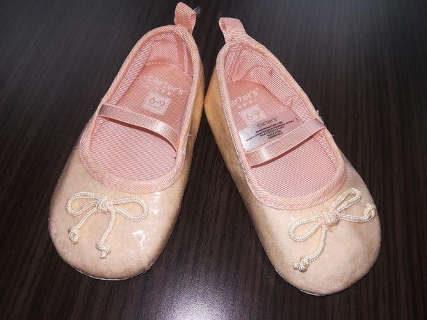 Nowe balerinki r. 6-9m Carter's.