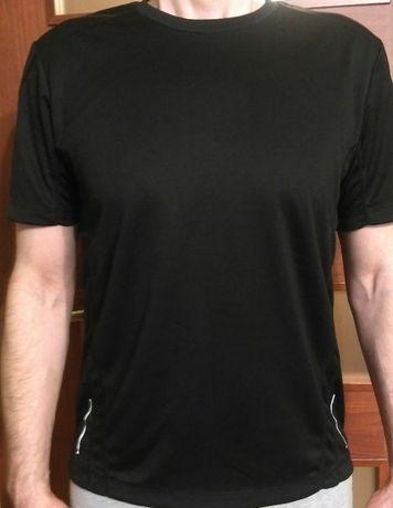 Sportowa czarna koszulka męska Active by Tchibo
