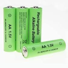 Аккумулятор Батарейка Rechargeable Alkaline Battery AA 1.5V