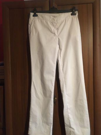 Spodnie medyczne białe r. 36