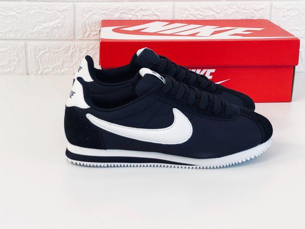 Nike cortez nylon кроссовки мужские летние найк кортез кросівки чолові