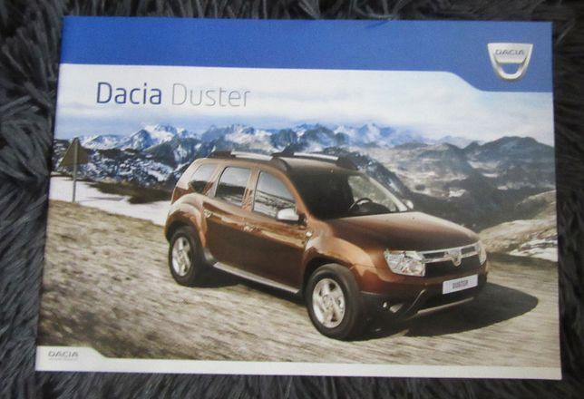 Prospekt broszura folder Dacia Duster