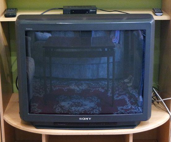 Stary telewizor sony sprawny przekątna ekranu 70 cm