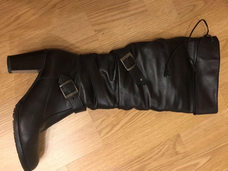 Сапоги ботфорты зимние кожаные Тоp But Ирпень - изображение 1