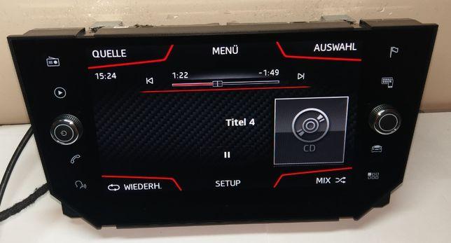 Seat Ibiza ekran multimedialny nawigacji OE