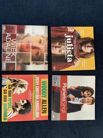 Filmy DVD 4 sztuki