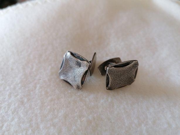 Spinki do mankietów srebrne