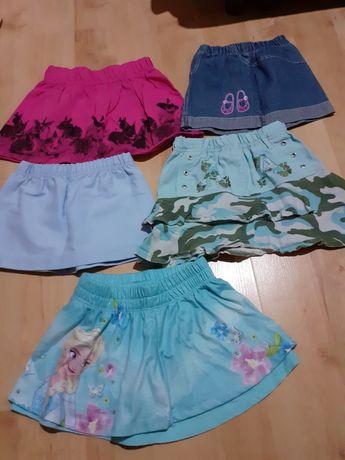 Spódniczki dziewczęce 86-92