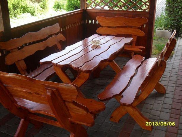 stół ławki meble ogrodowe