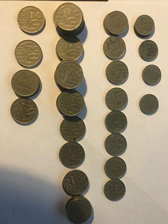 Монеты одним лотом 1961 - 1989 гг.