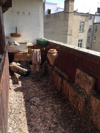 Sprzątanie po gołębiach/ Wywóz mienia po zbieraczach