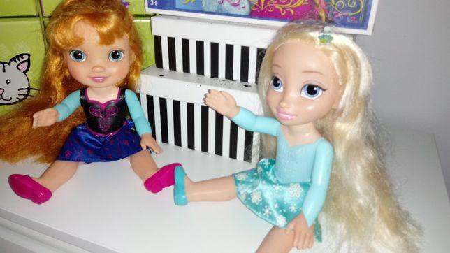 Prezent Elza i Anna Frozen Kraina lodu lalki Puzzle torebka Worek