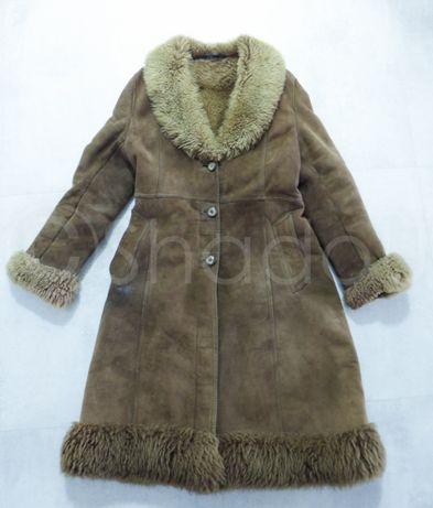 Kożuch damski płaszcz