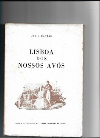 Lisboa dos nossos avós -Júlio Dantas