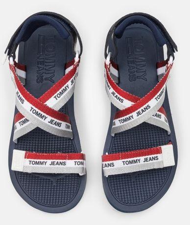 Tommy Jeans , sandały na platformie, r.41 STRAPPY