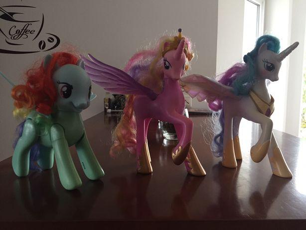 Koniki My Little Pony-Celestia,Rainbow Dash,Cadance