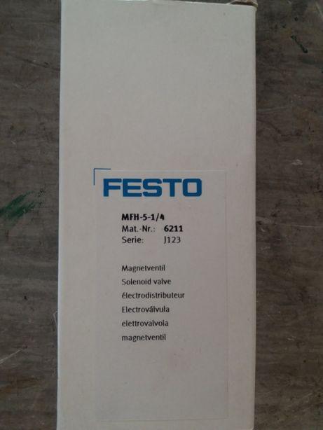 Eletrovalvula festo MFH 5-1/4 6211 nova