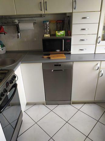 Meble kuchenne, kuchenka gazowa z piekarnikiem elektrycznym,zlew,okap