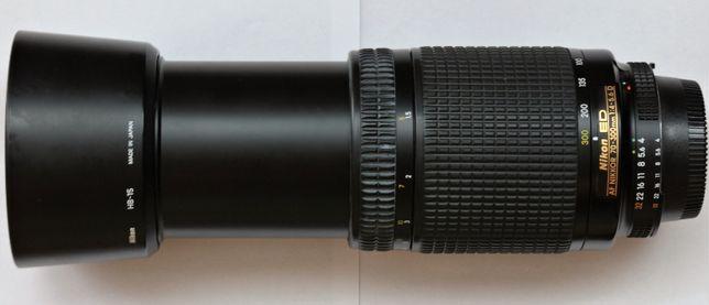 OBIEKTYW teleobiektyw Nikon NIKKOR AF 70-300MM F/4-5.6 D ED-jak nowy