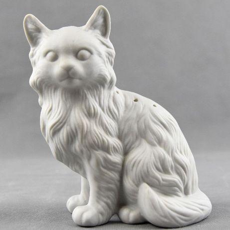 Paliteiro em Biscuit em forma de Gato - Vintage